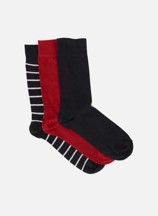 Chaussettes et collants Monoprix Homme Chaussettes marinière lot de 3 Multicolore vue portées chaussures