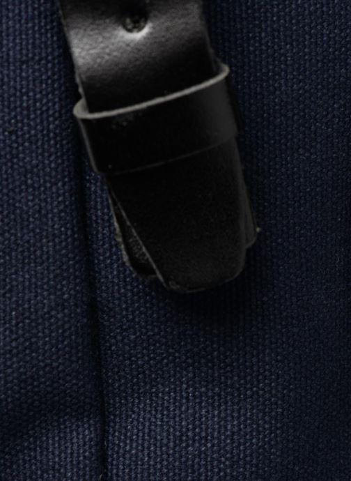 Sacs à dos Monoprix Homme Sac à dos en toile Bleu vue gauche