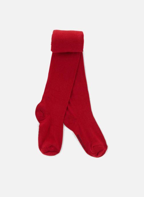 Chaussettes et collants Monoprix Kids Collants coton uni Rouge vue détail  paire dd695298d6b2