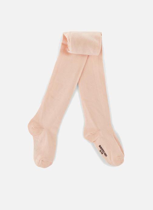 Chaussettes et collants Monoprix Kids Collants coton uni Beige vue détail/paire