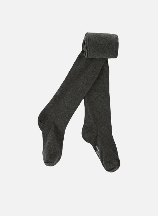 Strømper og tights Monoprix Kids Collants coton uni Grå detaljeret billede af skoene
