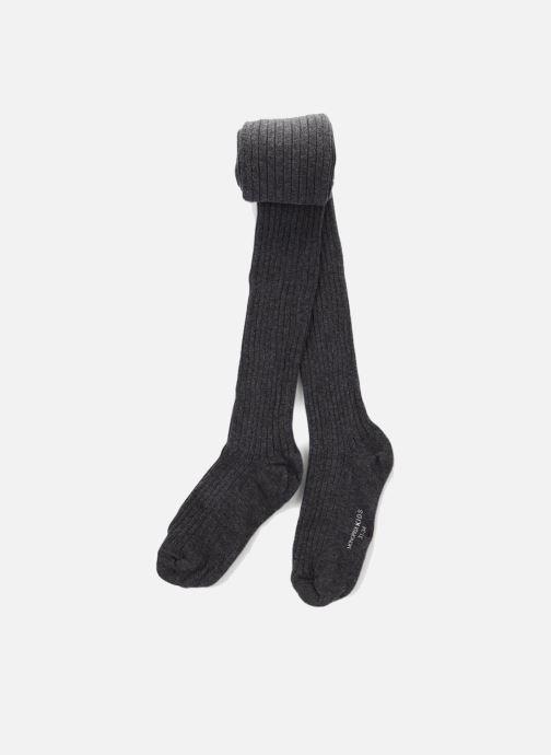 Chaussettes et collants Monoprix Kids Collants coton côtes Gris vue détail/paire