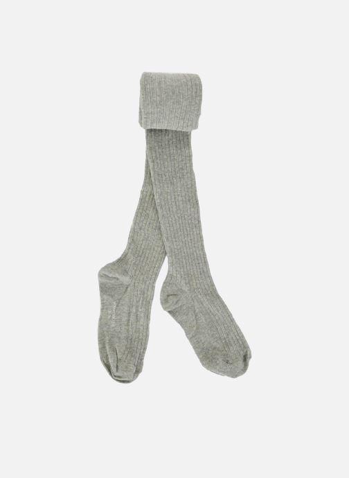 Strømper og tights Monoprix Kids Collants coton côtes Grå detaljeret billede af skoene