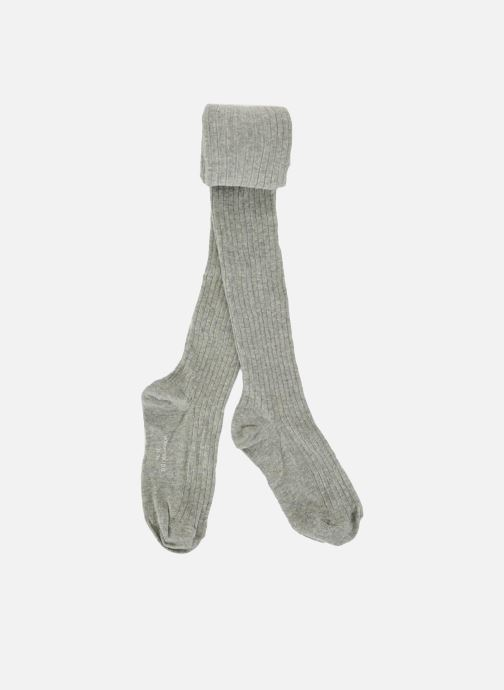 Socken & Strumpfhosen Monoprix Kids Collants coton côtes grau detaillierte ansicht/modell