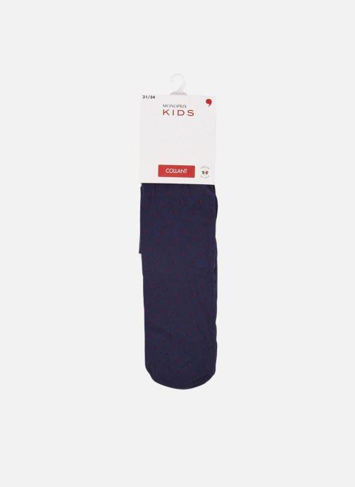Chaussettes et collants Monoprix Kids Collants en microfibre Bleu vue détail/paire