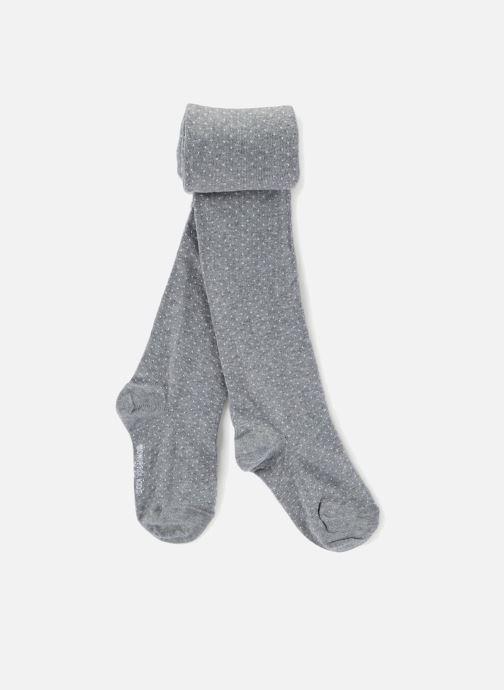 Chaussettes et collants Monoprix Kids Collants à pois Gris vue détail/paire