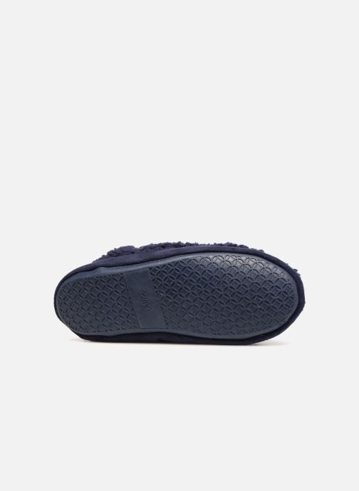 Slippers Monoprix Kids Chaussons Blue view from above