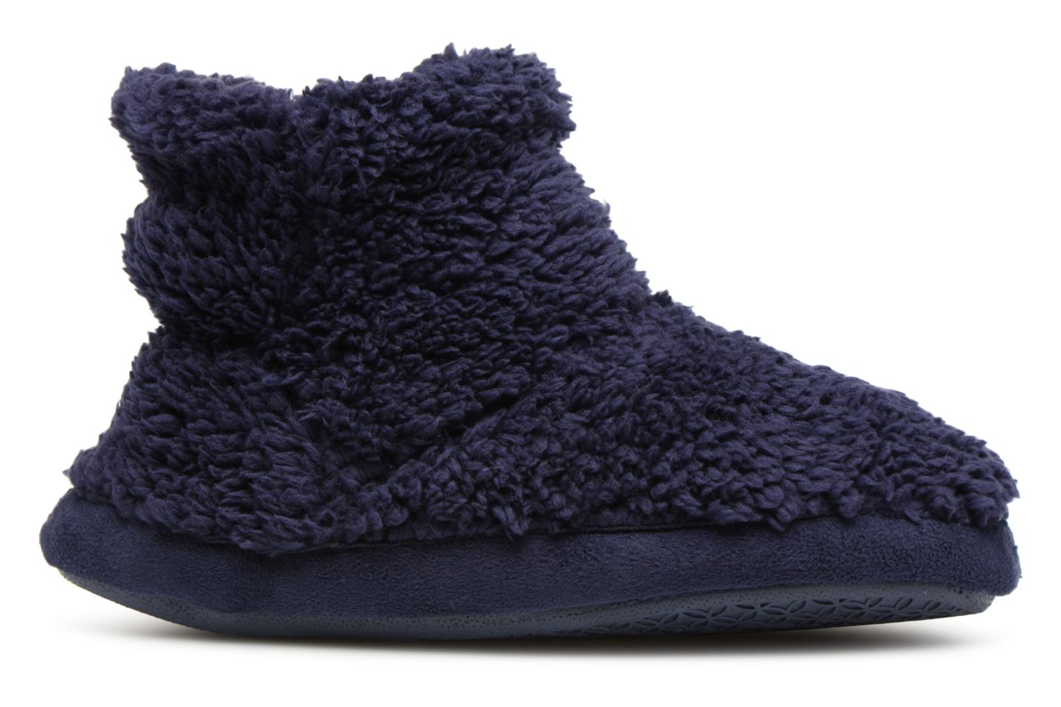 Slippers Monoprix Kids Chaussons Blue back view