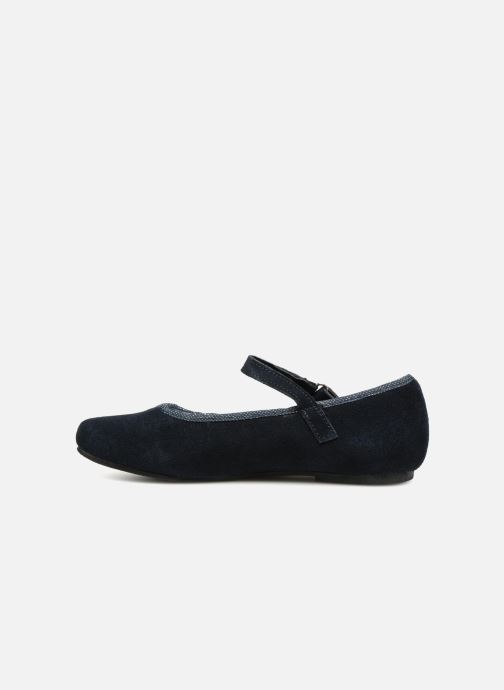 Ballet pumps Monoprix Kids Ballerines Blue front view