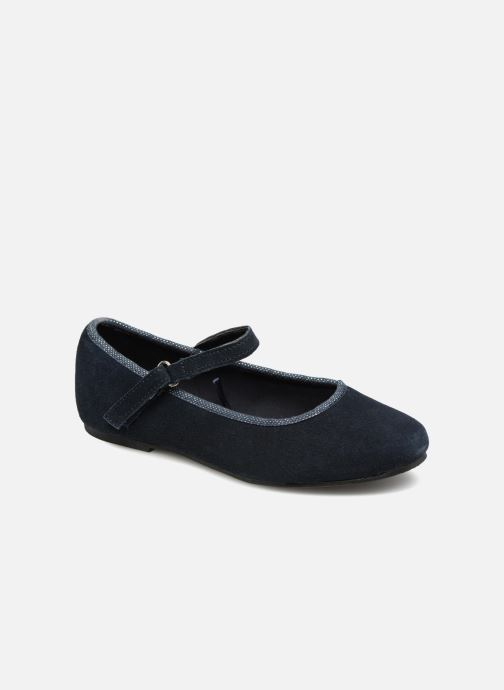 Ballet pumps Monoprix Kids Ballerines Blue detailed view/ Pair view