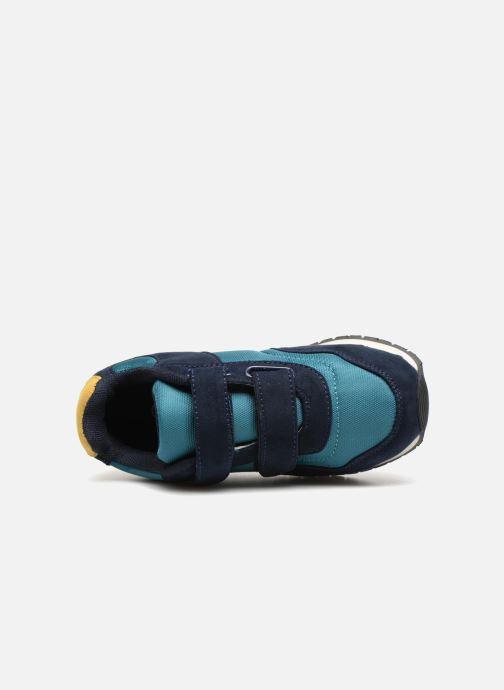 confortable super bon marché converse à scratch verte bleu