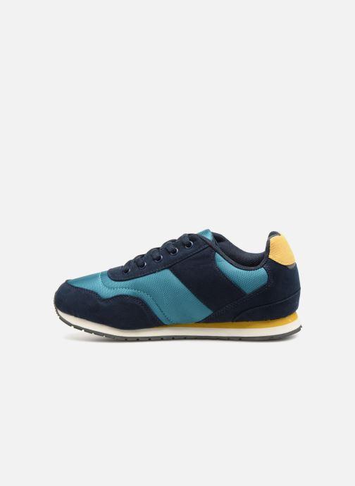 Sneaker Monoprix Kids Baskets à lacets blau ansicht von vorne