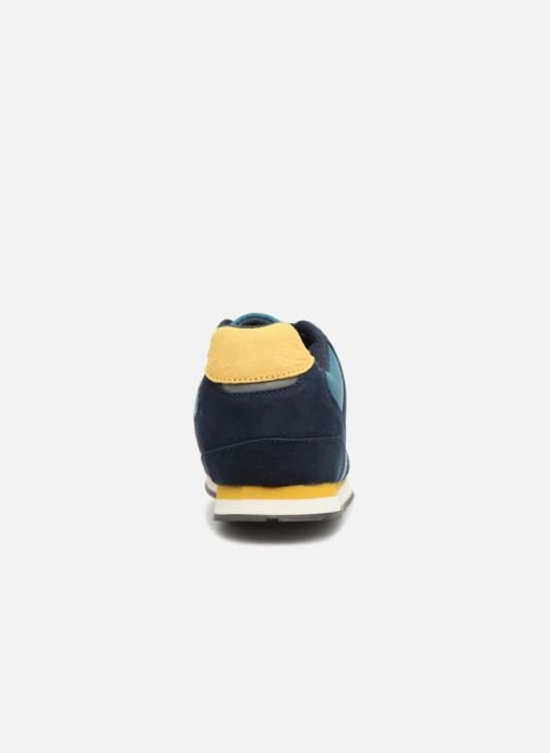 Trainers Monoprix Kids Baskets à lacets Blue view from the right