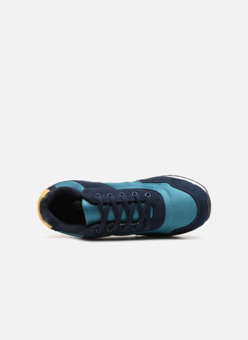 Sneaker Monoprix Kids Baskets à lacets blau ansicht von links