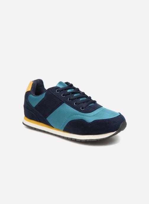 Sneakers Monoprix Kids Baskets à lacets Azzurro vedi dettaglio/paio