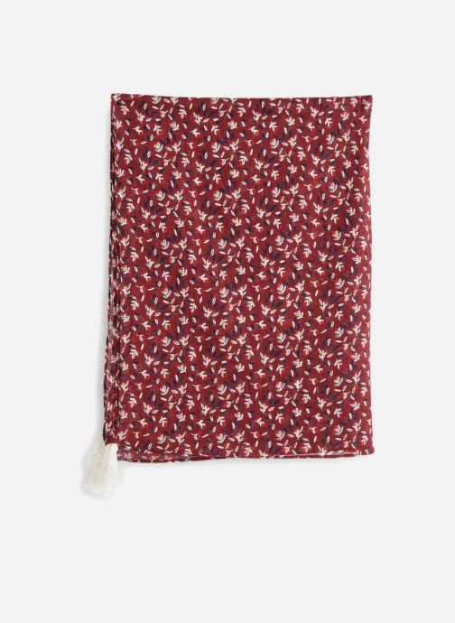 Sciarpa y foulard Monoprix Kids Chèche imprimé Rosso modello indossato
