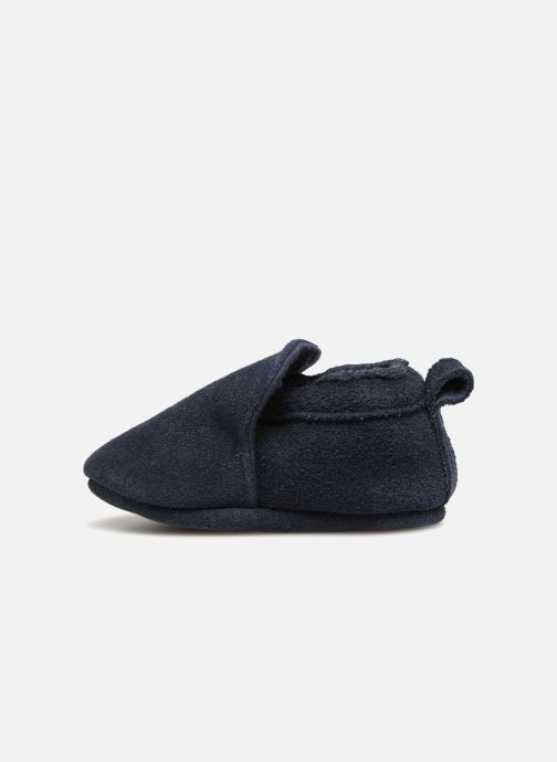 Slippers Bout'Chou Chaussons Blue front view