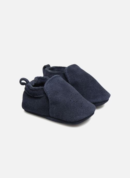 Slippers Bout'Chou Chaussons Blue detailed view/ Pair view
