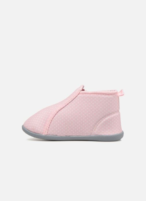 Hausschuhe Bout'Chou Chaussons rosa ansicht von vorne