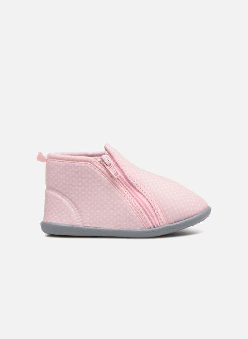 Hausschuhe Bout'Chou Chaussons rosa ansicht von hinten
