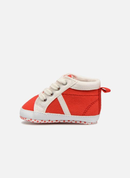 Sneaker Bout'Chou Baskets rot ansicht von vorne