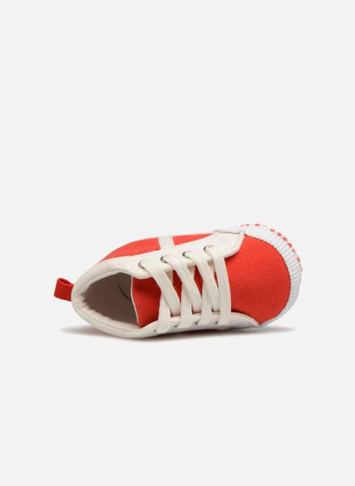 Sneaker Bout'Chou Baskets rot ansicht von links
