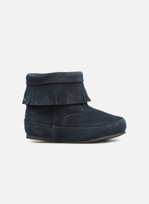 Ankle boots Bout'Chou Bottines à franges Blue back view
