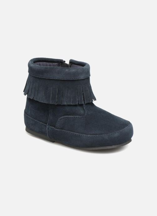 Ankle boots Bout'Chou Bottines à franges Blue detailed view/ Pair view