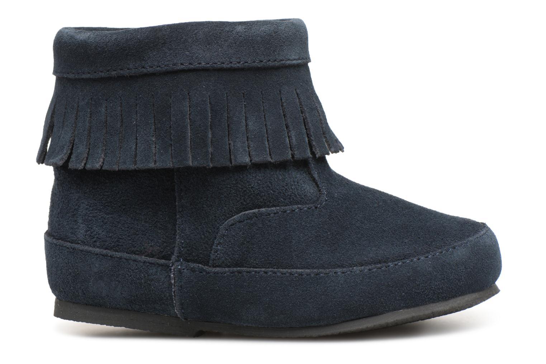 Bottines et boots Bout'Chou Bottines à franges Bleu vue derrière