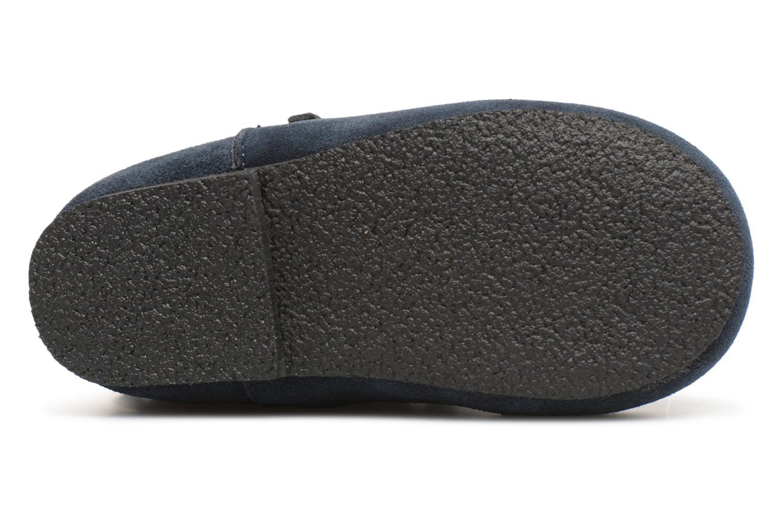 Bottines et boots Bout'Chou Bottines à franges Bleu vue haut