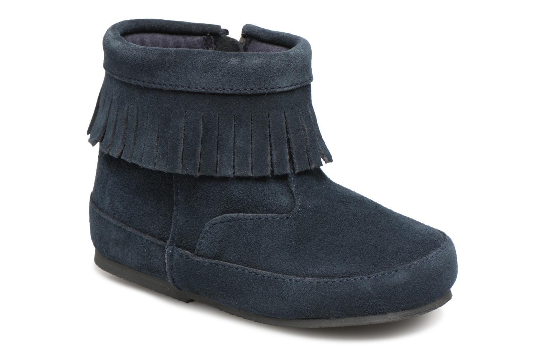 Bottines et boots Bout'Chou Bottines à franges Bleu vue détail/paire
