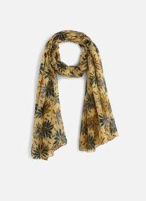 Echarpes et Foulards Accessoires Etole en soie à fleurs et pois