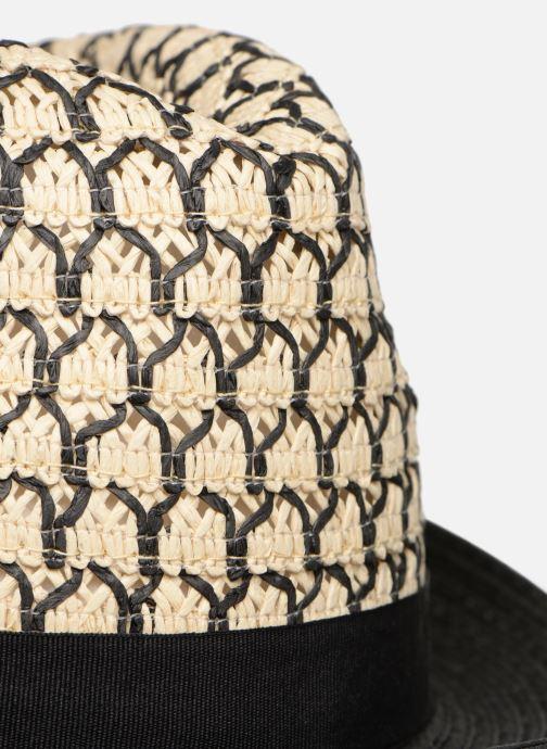 Chapeaux Monoprix Femme Chapeau bicolore Noir vue face