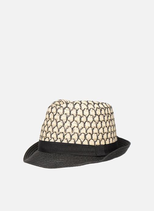 Chapeaux Monoprix Femme Chapeau bicolore Noir vue détail/paire