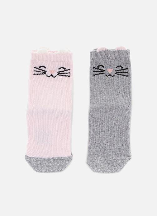 Socken & Strumpfhosen Bout'Chou Lot 2 paires de chaussettes mehrfarbig detaillierte ansicht/modell