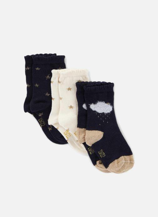 Chaussettes et collants Bout'Chou X 3CH NUAGE/ETOILE F Multicolore vue détail/paire