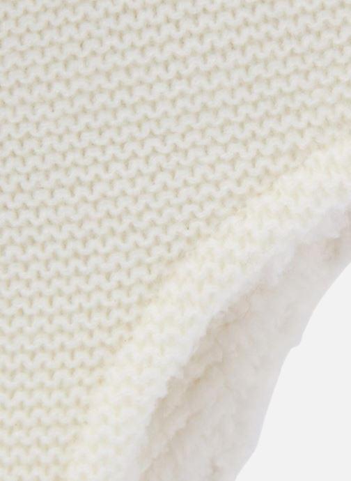 Bonnets Bout'Chou Péruvien Blanc vue portées chaussures