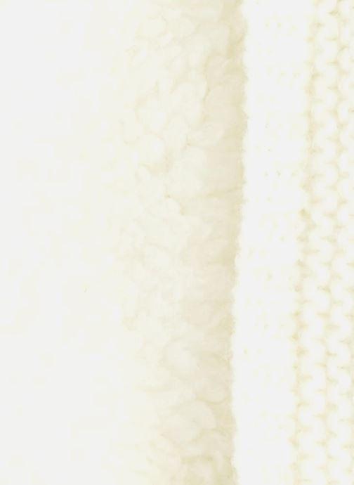 Echarpes et Foulards Bout'Chou Tour du cou Blanc vue portées chaussures