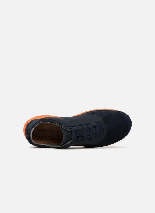 Sneaker Geox U Nebula F U63D7F blau ansicht von links