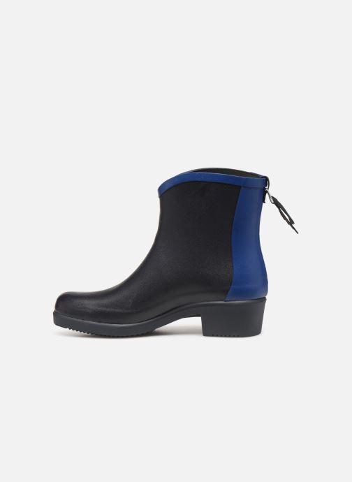 Bottines et boots Aigle Ms jul bot col Bleu vue face
