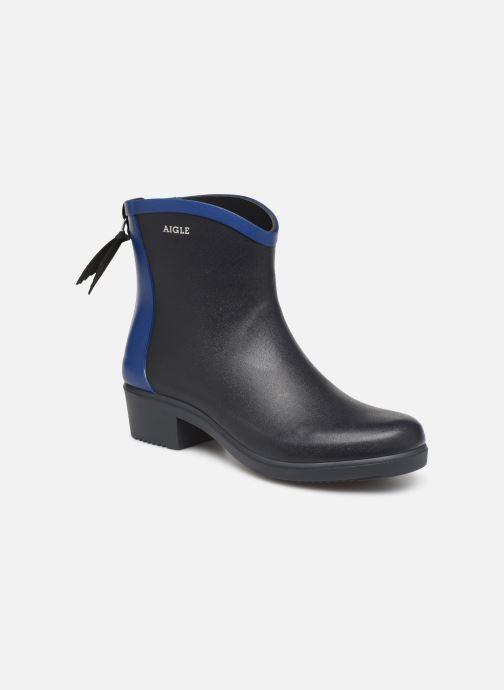 Bottines et boots Aigle Ms jul bot col Bleu vue détail/paire
