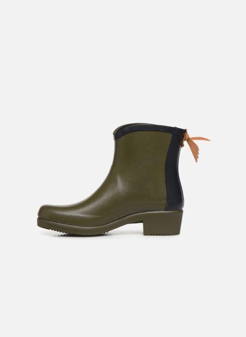 Bottines et boots Aigle Ms jul bot col Vert vue face