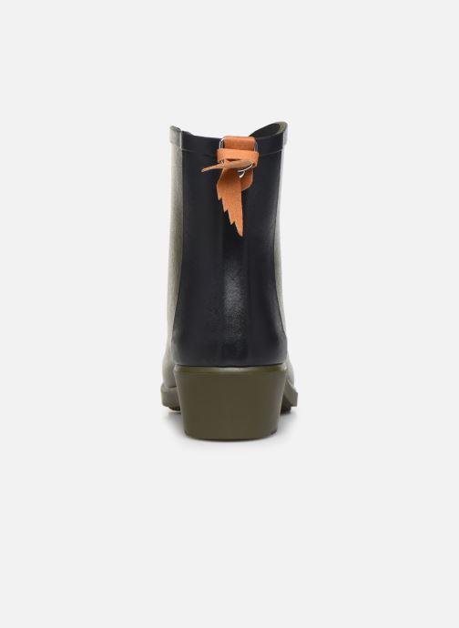 Bottines et boots Aigle Ms jul bot col Vert vue droite
