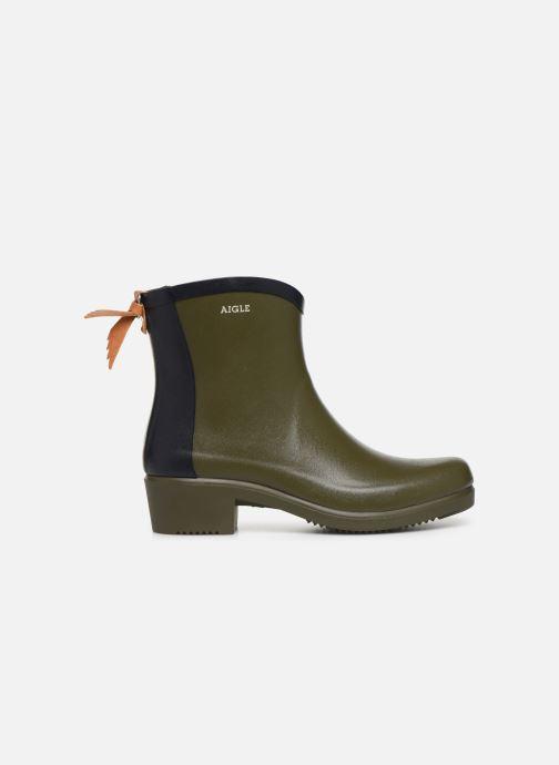 Bottines et boots Aigle Ms jul bot col Vert vue derrière