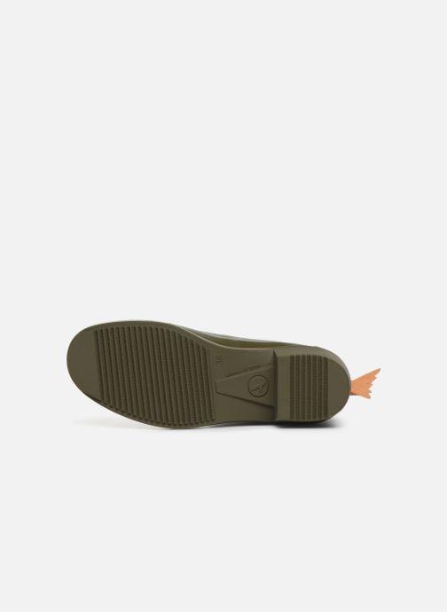 Bottines et boots Aigle Ms jul bot col Vert vue haut