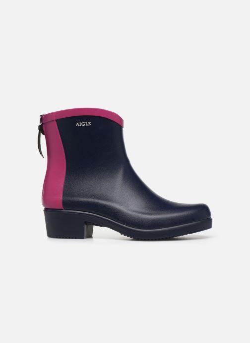 Bottines et boots Aigle Ms jul bot col Bleu vue derrière