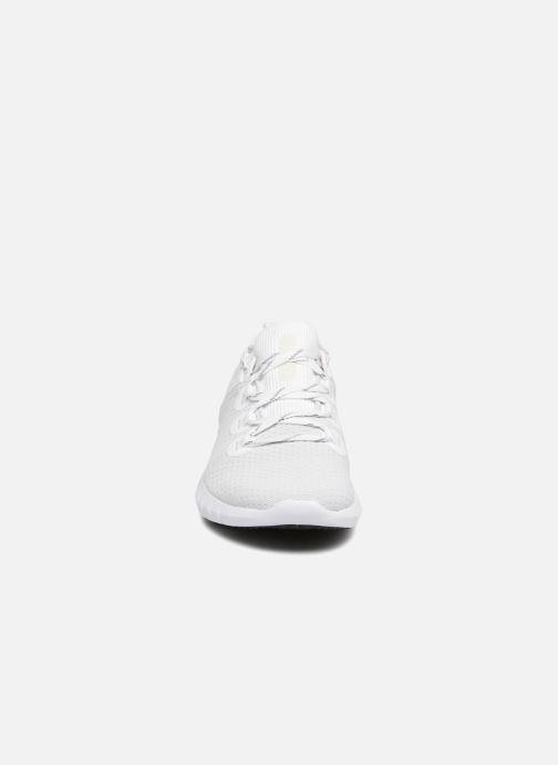 Sneaker Under Armour UA W HOVR SLK weiß schuhe getragen