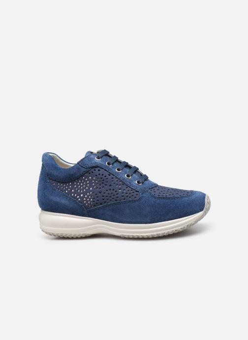 Baskets Geox D Happy A D5262A Bleu vue derrière