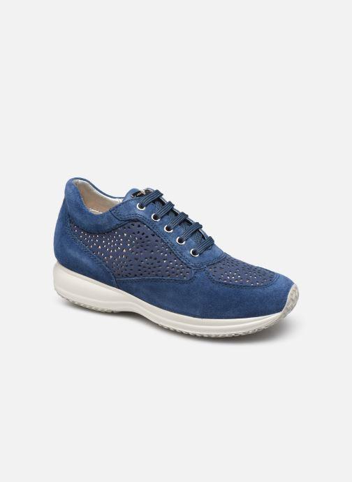 Baskets Geox D Happy A D5262A Bleu vue détail/paire