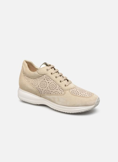 Baskets Geox D Happy A D5262A Beige vue détail/paire